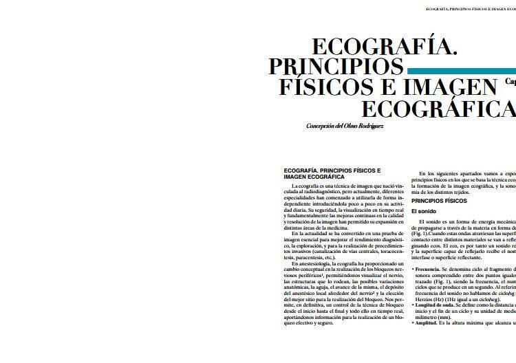 Ecografía imagen ecografica