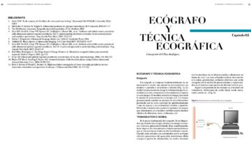 Ecografo y tecnica ecografica