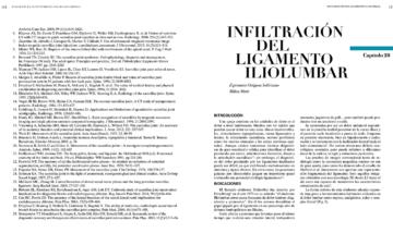 INFILTRACIÓN DEL LIGAMENTO ILIOLUMBAR