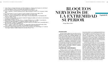 CAP. 33.- BLOQUEOS NERVIOSOS DE LA EXTREMIDAD SUPERIOR