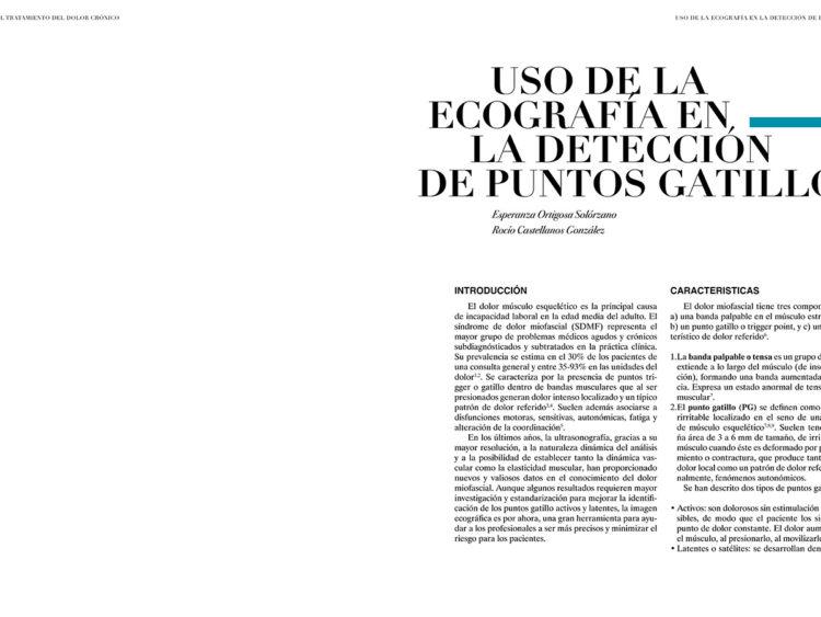 Cap. 38.- Uso de la Ecografía en la Detección de Puntos Gatillo